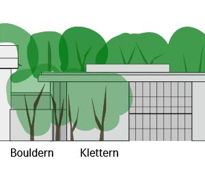 Ansicht Ost geplanter Neubau