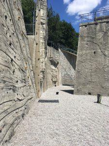 Beton Freianlage zum Klettern