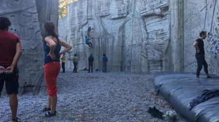 Kletterkurs in Freianlage