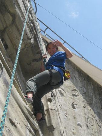 Klettern im Beton - geschafft!