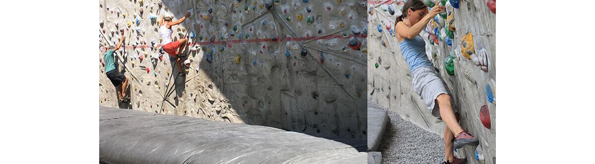Der Schrein Boulder-Paradies Thalkirchen