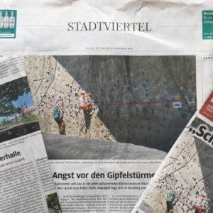 Presseartikel gegen Kletterhalle