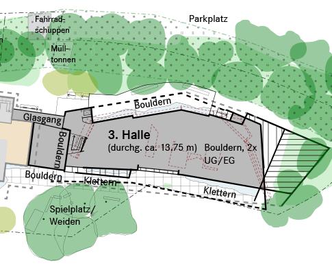 Die geplante Außenanlage