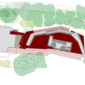 Neu-Versiegelung durch geplanten Neubau