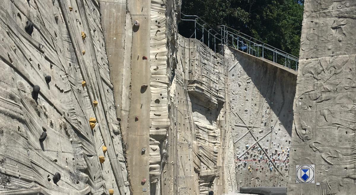 Denkmalschutz für die Beton Kletteranlage von 1989